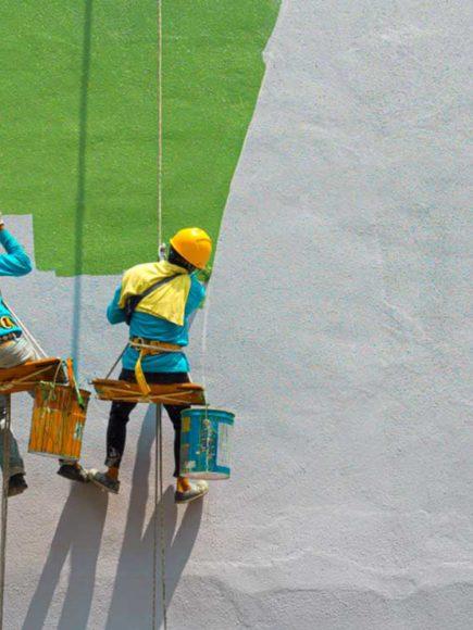 Pintor Decorativo en Construcción